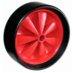 Optiparts Wheel, large solid rubber economy