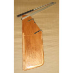 Optiparts Rudder, Wood, w/ fittings & EX1130 tiller+extension