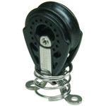 Optiparts Block with Eyelet and Spring, Harken 40mm carbo