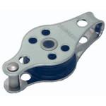 Optiparts Block, 22mm plain sheeve halyard block with becket