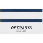 Optiparts Sailband Sticker (Blue for silver masts)