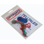 Optiparts Tell-Tales, 8-red, 8-green