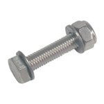 WinDesign Pivot bolt for Laser Rudder, 10mm Stainless Steel