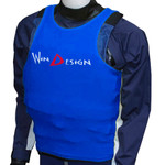 WinDesign Lycra sailing penny, blue