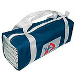 "WinDesign Tool/toilet bag, partial reinforced sailcloth, 4"" x 4"" x 12"","