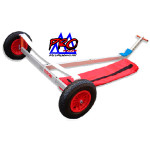 Optiparts Dolly, ProRacer, folds into a compact three foot bag