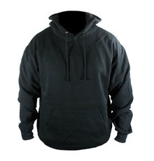 UNISEX WARM FLEECE MOTORCYCLE HOODIE