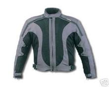 Mens Mesh Duratex 600D Armored Motorcycle biker Jacket w/Waterproof Z/O Linings New
