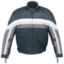 Waterproof Duratex 600D  Vented Armored Motorcycle Jacket Small CLOSEOUT