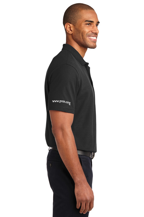 Classic Polo Black Sleeve