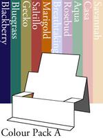 Chair Step Card - Colour Pack A