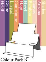 Chair Step Card - Colour Pack B