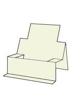 Chair Step Card - French Vanilla 10pk