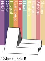 Side Step Card - Colour Pack B