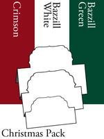 Tri-Fold Labels 4 - Christmas
