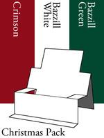 Chair Step Card - Christmas