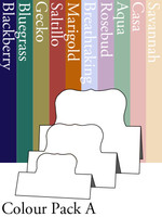Tri-Fold Labels One - Colour Pack A