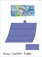 Money Card - Dahlia 10pk ($10)