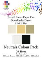 Bazzill/DownUnder Neutrals