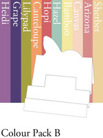 Tri-Fold Butterfly - Colour Pack B