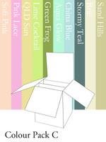3D Box Card - Colour Pack C