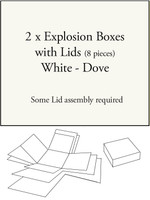Explosion Box - White Dove