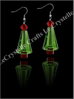 Swarovksi SingleTier Tree Earrings