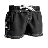 Original Watermen Women's Pro Boardshort - Black