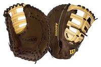 Wilson A2000 Pro-Stock Brown/Tan First Base Glove (Right Hand Throw Only)