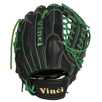 "Vinci Pro JC3333-22 Black with Green Lacing 11.5"" Glove (Right Hand Throw Only)"