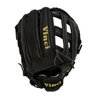 "Vinci Pro RV1961-L All Black 12.75"" Glove (Right Hand Throw only)"
