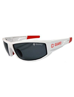 Polarized Guard Sunglasses with Red Tip