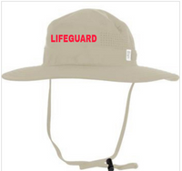Perforated Performance Boonie Hat  w/ LIFEGUARD optional logo
