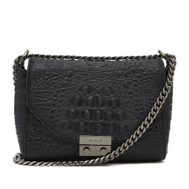 ALLEGRA CROC-EFFECT CROSS BODY BAG (SOLD OUT)