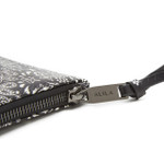 BRONX BANDANA PRINT CLUTCH - BLACK (SOLD OUT)