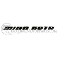 Minn Kota Control Box Cover Side Decal (Riptide)