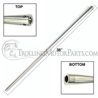 "Motor Guide 36"" Aluminum Shaft (Hand Control)"