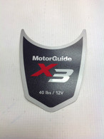 Motor Guide X3 40 Decal