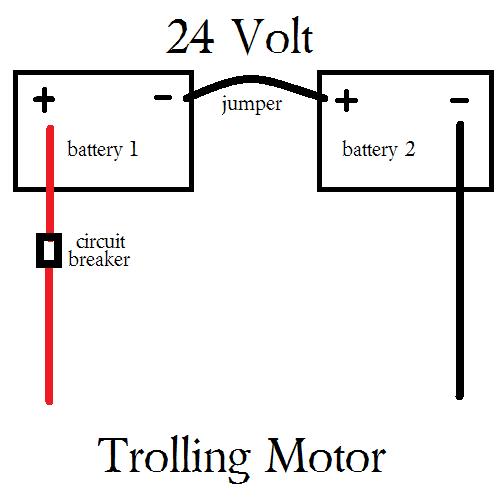 50 Amp Trolling Motor Breaker (Manual Reset) Wiring A Volt Trolling Motor on