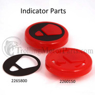 Minn Kota Indicator Assembly (Red)