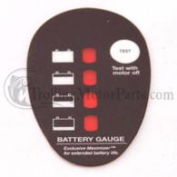 Minn Kota Battery Gauge Decal (PD)
