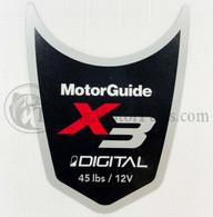 Motor Guide X3 45 Decal (Digital)
