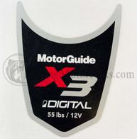 Motor Guide X3 55 Decal (Digital)