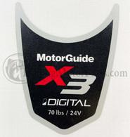 Motor Guide X3 70 Decal (Digital)