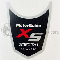 Motor Guide X5 55 Decal (Digital)