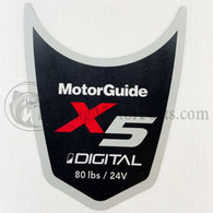 Motor Guide X5 80 Decal (Digital)