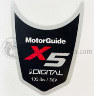 Motor Guide X5 105 Decal (Digital)