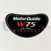 Motor Guide Wireless 75 Decal