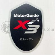 Motor Guide Xi3 45 Decal