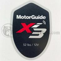 Motor Guide Xi3 52 Decal